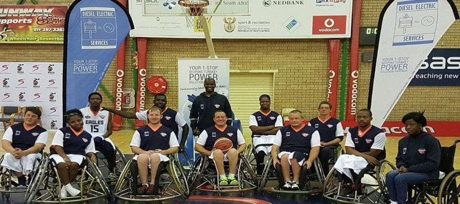 Diesel Electric Services Basketball sponsorship