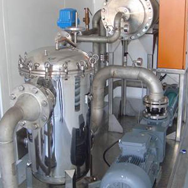 Hydraspin Oil Separation System