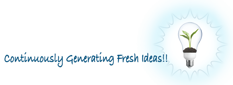 Continuously Generating Fresh Ideas